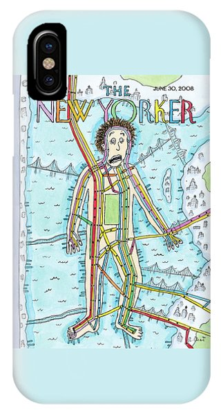 New Yorker June 30th, 2008 IPhone Case
