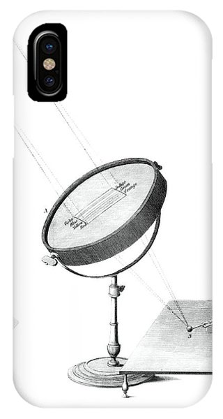Infrared Radiation iPhone Case - Herschel Infrared Light Experiments by Royal Astronomical Society/science Photo Library