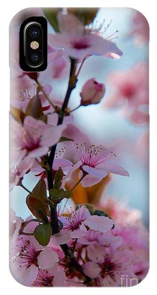Plum Tree Flowers IPhone Case