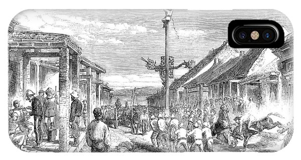 China Town iPhone Case - Second Opium War, 1860 by Granger