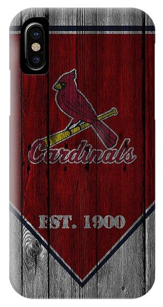 Iphone 4 iPhone Case - St Louis Cardinals by Joe Hamilton