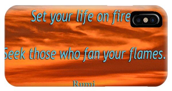 120- Rumi IPhone Case