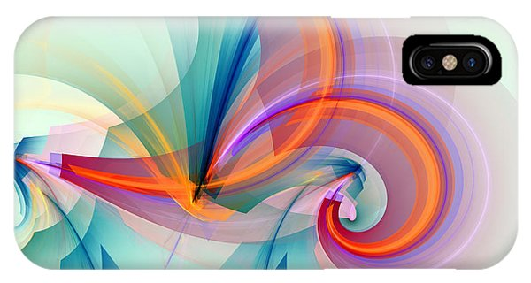Colorful iPhone Case - 1260 by Lar Matre