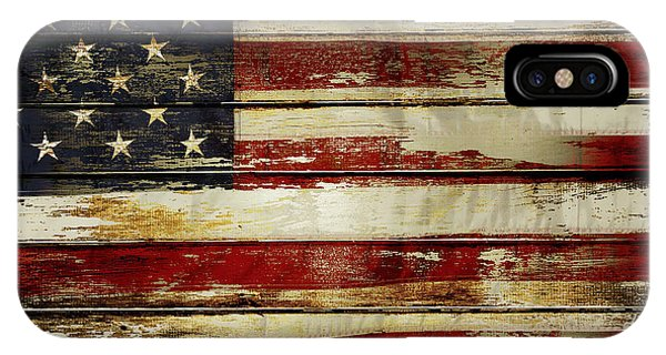 American Flag 54 IPhone Case