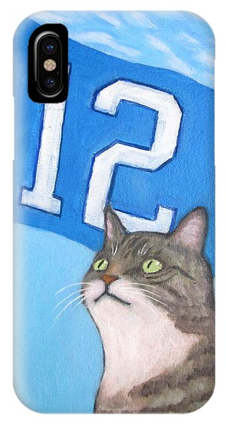 12th Cat #1 IPhone Case