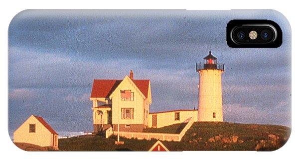 Cape Neddick Light  Phone Case by Herbert Gatewood