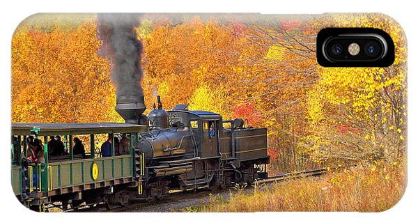 Cass Scenic Railroad IPhone Case