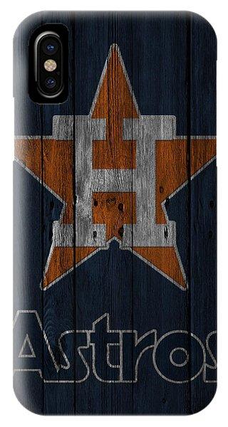 Astro iPhone Case - Houston Astros by Joe Hamilton