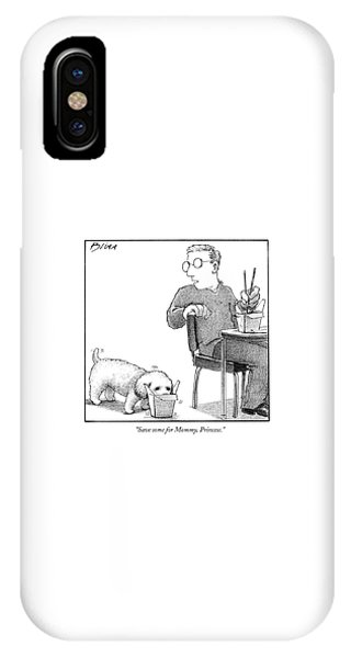 Save Some For Mommy IPhone Case