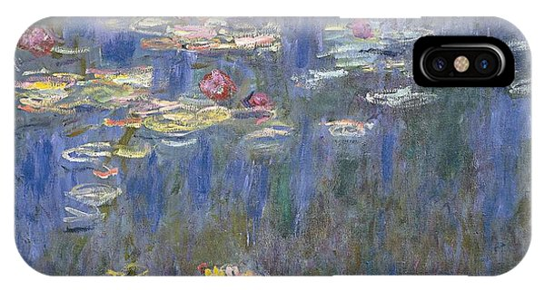 20th iPhone Case - Water Lilies by Claude Monet