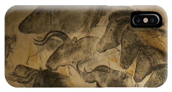 Wild Horses iPhone Case - 131018p051 by Arterra Picture Library