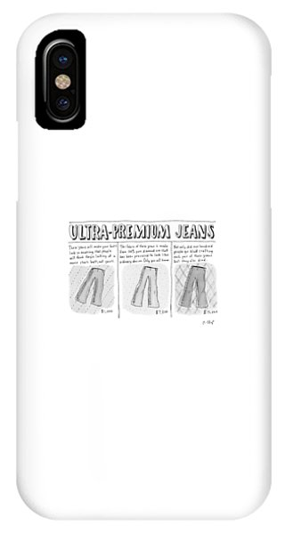 Ultra-premium Jeans IPhone Case