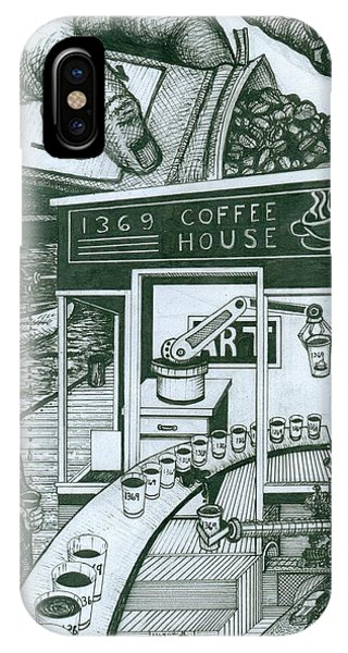 1369 Coffee House IPhone Case