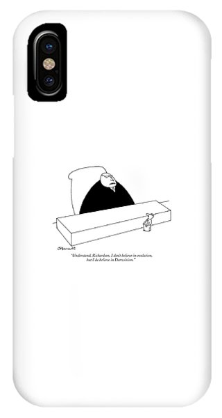 Small Business iPhone Case - Understand, Richardson, I Don't Believe by Charles Barsotti