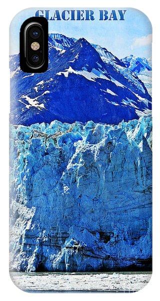 Glacier Bay iPhone Case - Alaska by Sophie Vigneault