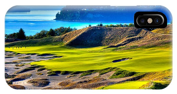 #14 At Chambers Bay Golf Course - Location Of The 2015 U.s. Open Tournament IPhone Case