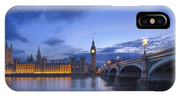 Big Ben And The Houses Of Parliament  IPhone Case