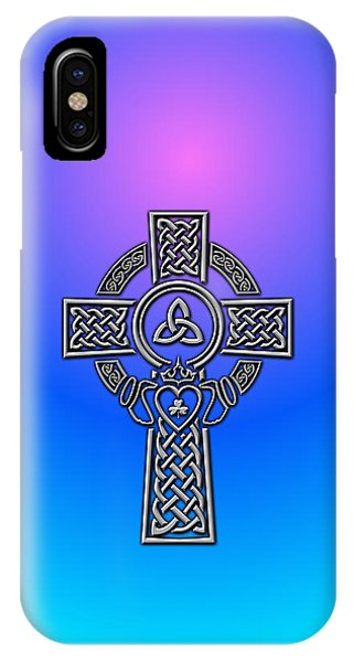 Irish iPhone Case - Celtic Cross by Ireland Calling