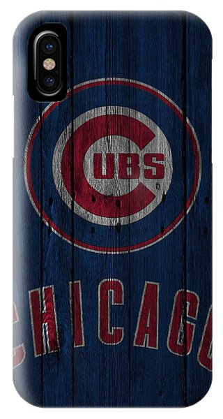 Diamond iPhone Case - Chicago Cubs by Joe Hamilton