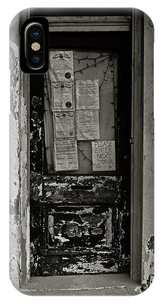 New Orleans Door IPhone Case
