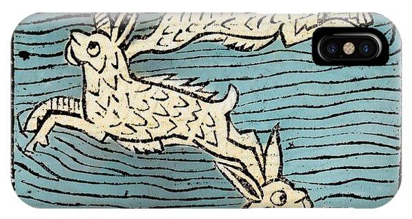 1491 Sea Hares From Hortus Sanitatis Phone Case by Paul D Stewart