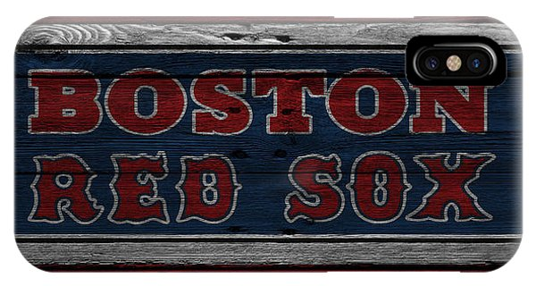 Boston Red Sox iPhone Case - Boston Red Sox by Joe Hamilton