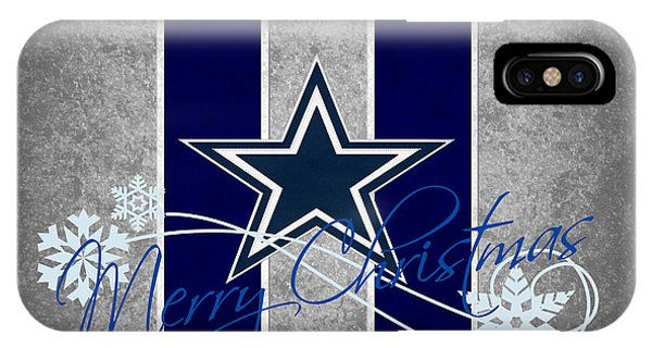 University iPhone Case - Dallas Cowboys by Joe Hamilton