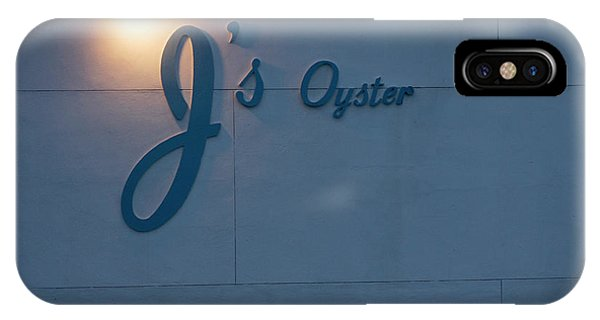 Oyster Bar iPhone Case - Early Morning In Portland, Maine by Jose Azel
