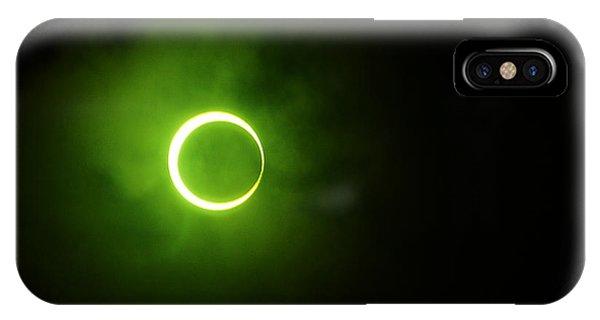 15 January 2010 Solar Eclipse Maldives IPhone Case