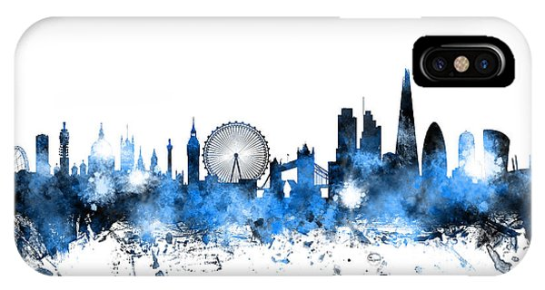 Skyline iPhone Case - London England Skyline by Michael Tompsett