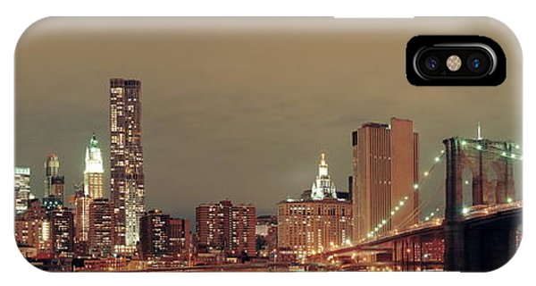 Manhattan Downtown IPhone Case
