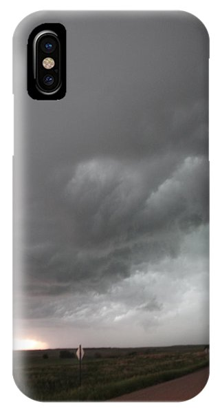 Nebraskasc iPhone Case - Nebraska Panhandle Supercells by NebraskaSC