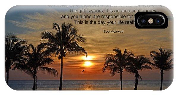 154- Bob Moawad IPhone Case