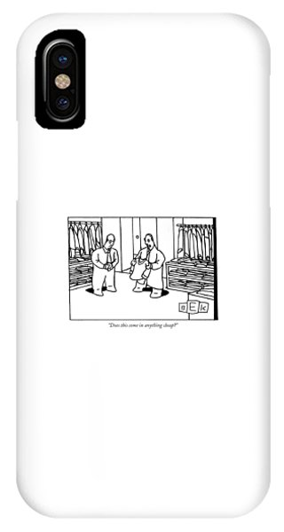 Does This Come In Anything Cheap? IPhone Case