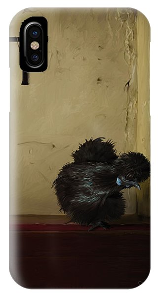 16. Black Silkie IPhone Case