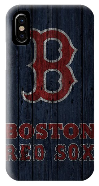 Red Sox iPhone Case - Boston Red Sox by Joe Hamilton