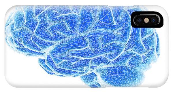 Neurology iPhone Case - Brain by Pasieka