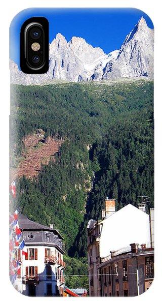 Buy Art Online iPhone Case - Chamonix by Alexandros Daskalakis