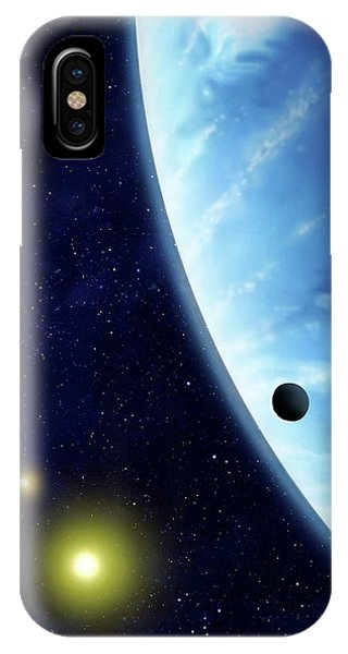 16 Cygni B Planet Phone Case by Mark Garlick/science Photo Library