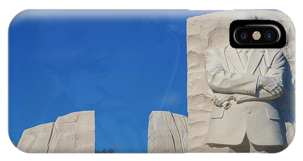 IPhone Case featuring the photograph Martin Luther King Jr Memorial by Theodore Jones