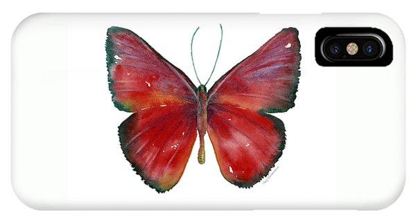 16 Mesene Rubella Butterfly IPhone Case