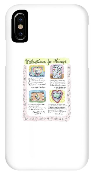 Valentines For Things IPhone Case