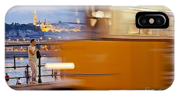 Budapest By Night IPhone Case