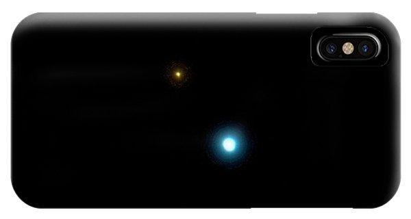 17 Cygni Binary Star System IPhone Case