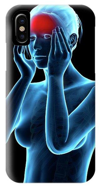 Human Headache Phone Case by Sebastian Kaulitzki