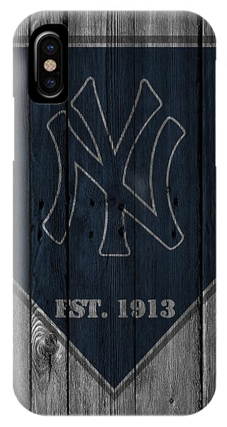 Barn iPhone Case - New York Yankees by Joe Hamilton