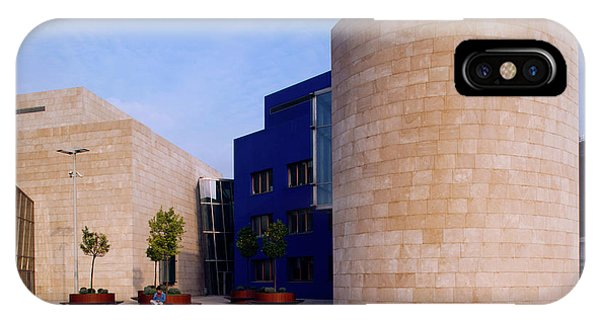 Gehry iPhone Case - Spain, Basque Country Region, Vizcaya by Walter Bibikow