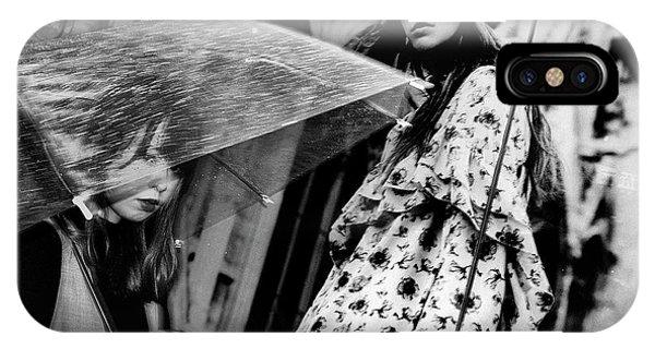 Umbrella iPhone Case - Untitled by Tatsuo Suzuki