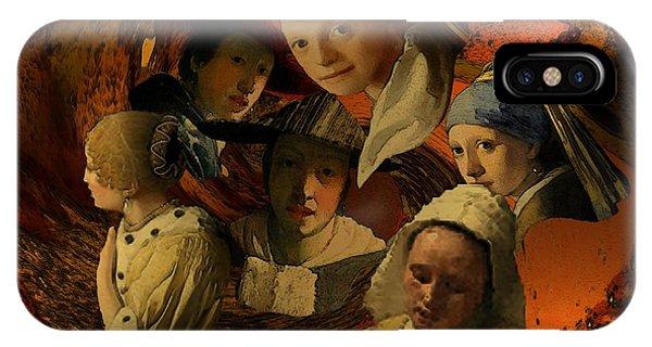 17th Century Maidens IPhone Case