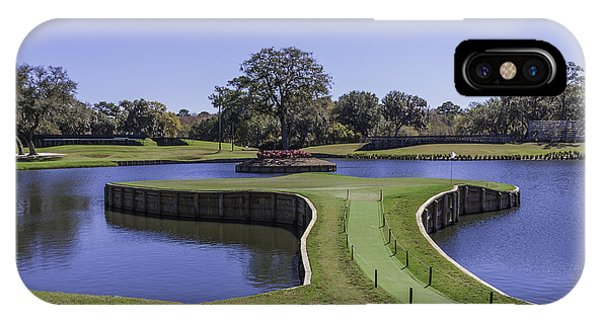 17th Hole Or Island Green At Tpc Sawgrass IPhone Case